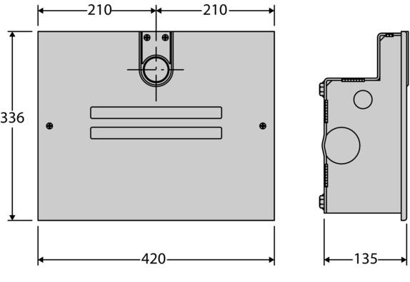 Mặt cắt motor cổng mở ELI250