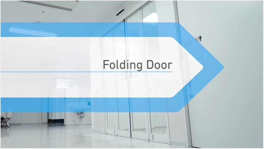 Cửa mở trượt gấp Folding Door